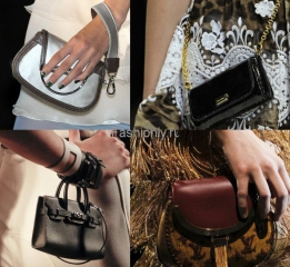 Тенденции сумок весна-лето 2011 мини формат.