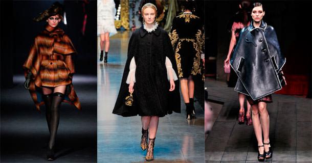 Модный верхний трикотаж и кожа осенью 2013 Image
