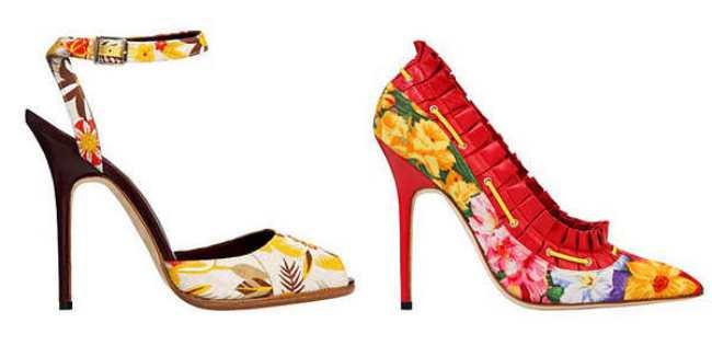С чем носить обувь с принтами? Image