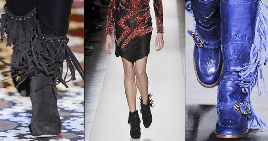 Обувь с бахромой: как и с чем носить? Image