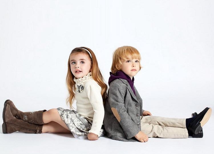 Дети, одетые по последнему слову моды Image