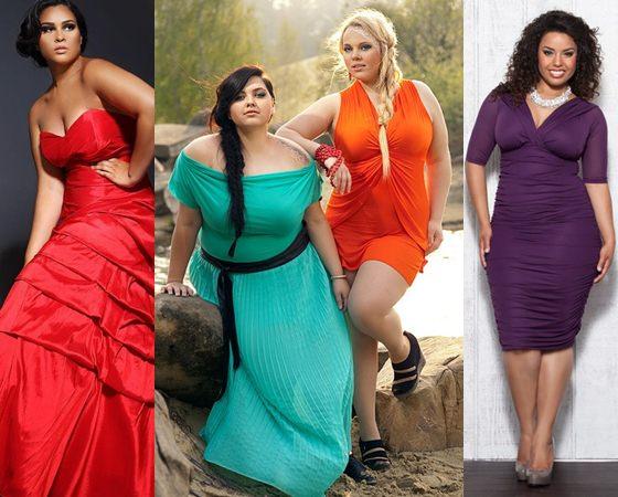 Вечерние платья 2013 для девушек с притягательными габаритами