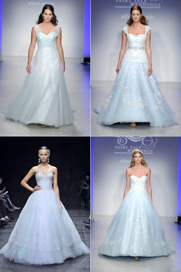 Лучшие цветные свадебные платья 2013 Image
