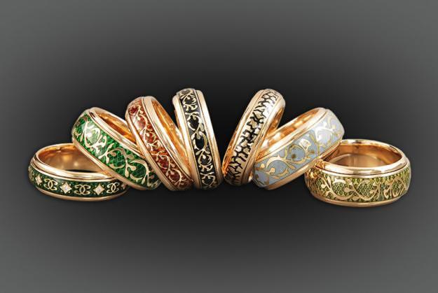 Выбор ювелирных украшений Image