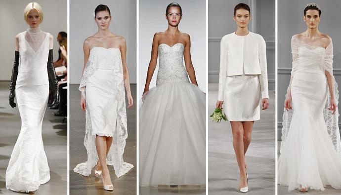 Нью-Йорк: неделя свадебной моды-2014 от Vera Wang
