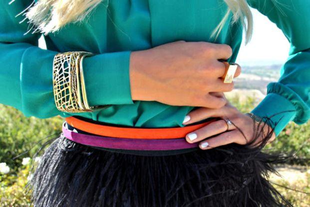 Модные ремни: как носить? Image