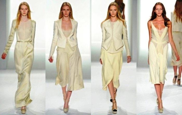 Модные тенденции 2013: Одноцветный образ Image