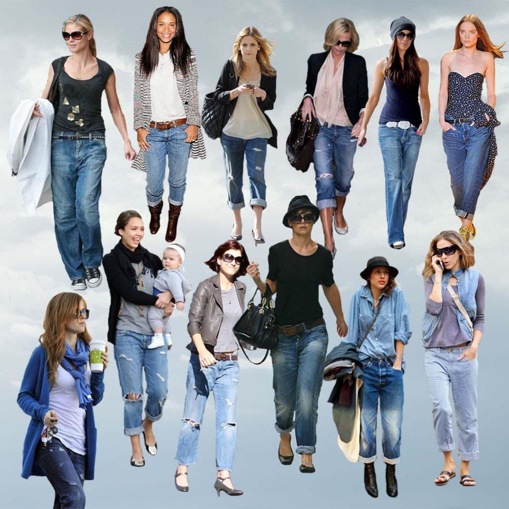 Джинсовая мода в 2013 Image
