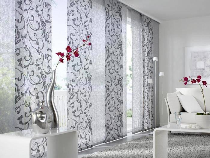 Модные шторы для модного дома