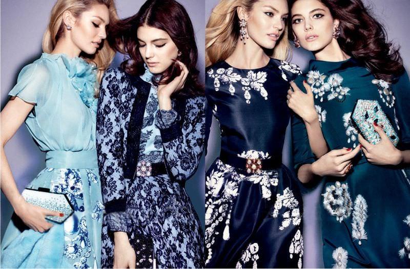 Платья-халаты в 2013 – 2014