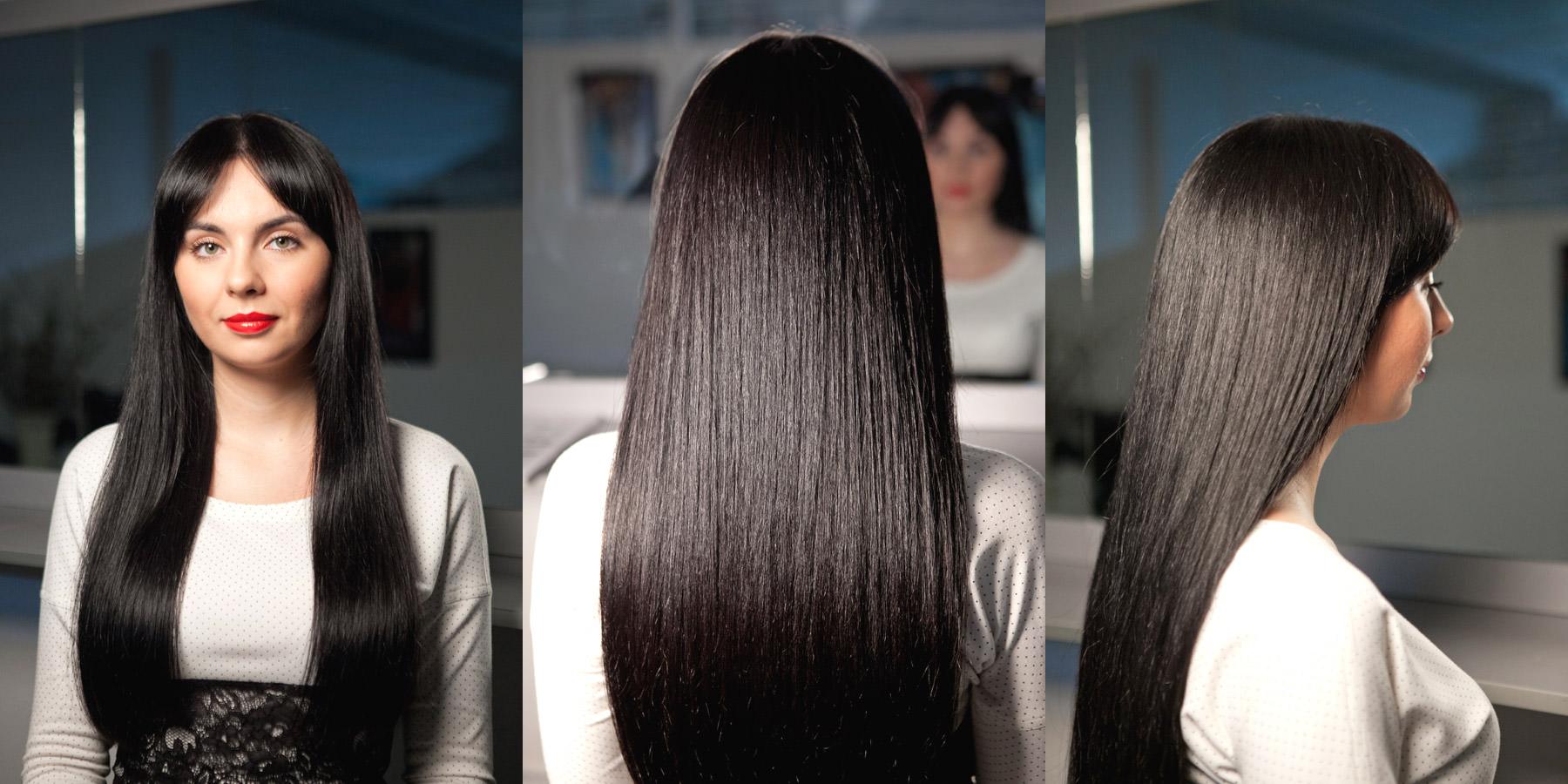 Блестящие волосы. Как сделать волосы блестящими в домашних 5