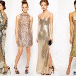 15 блестящих платьев с блестками 2020
