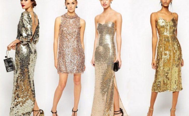 15 блестящих платьев с блестками 2020 Image