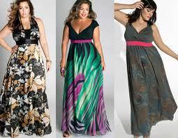 Модные сарафаны больших размеров