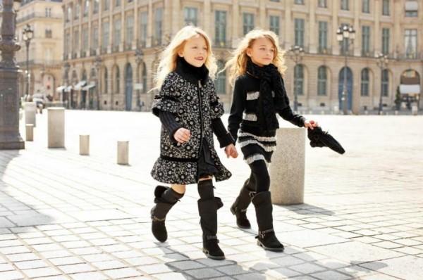 Развитие детской моды