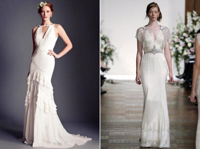 Свадебные платья - тенденции 2013