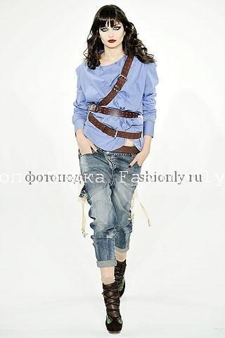 Осенние тенденции 2010: джинсы и шелк от L.A.M.B.