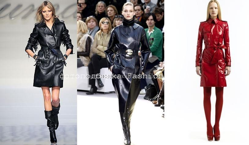 Модные плащи 2010 от Blumarine, Celine и Valentino