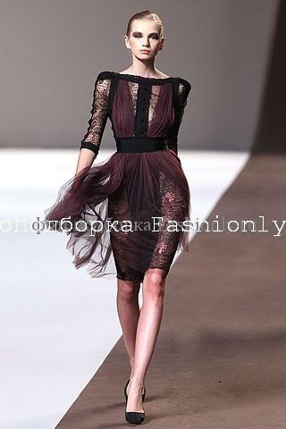 Кружевное платье от Elie Saab