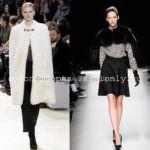 Тенденции моды осень 2010 выбирает накидки!