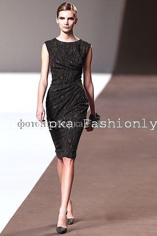 Модные платья футляр от Elie Saab
