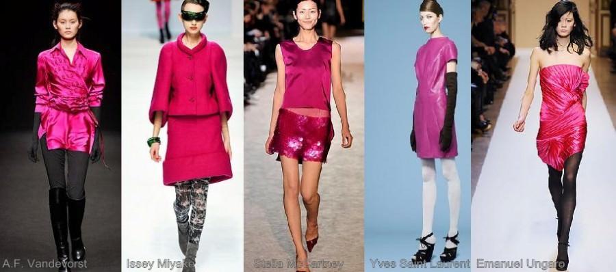 Модный цвет осени 2010 - пурпурный