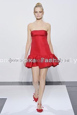 Платье бюстье 2010 от Valentino