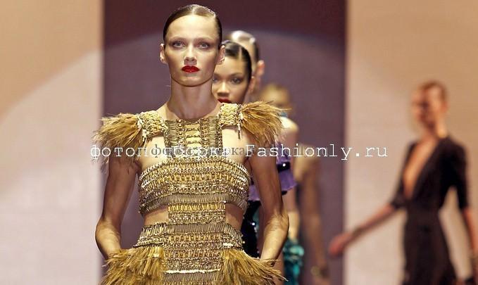 Gucci показ мод 2011 весна в Милане