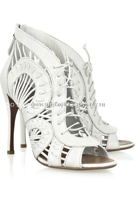 Свадебная обувь 2010 от Аlaïa
