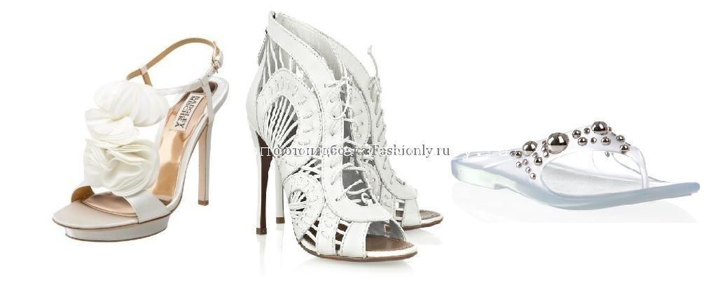 Свадебная обувь 2010