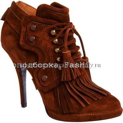 Туфли оксфорды от Givenchy
