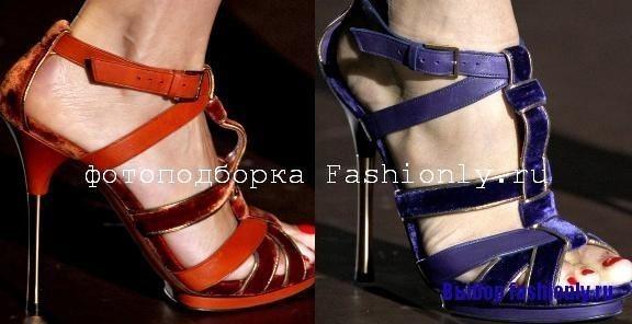 Модная обувь 2011 Gucci