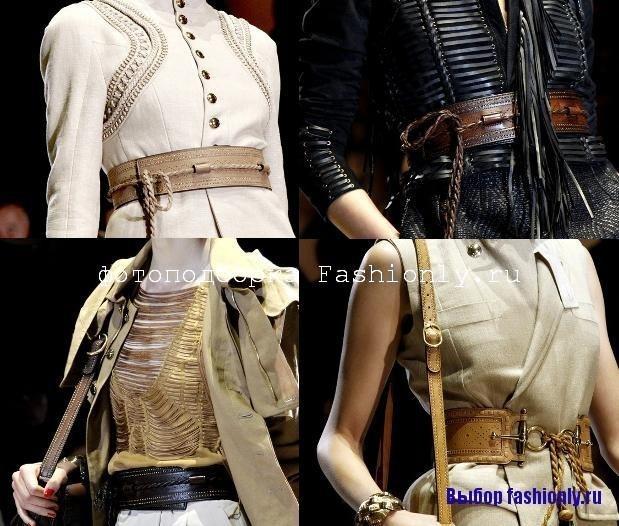 Модные ремни 2011 от Gucci