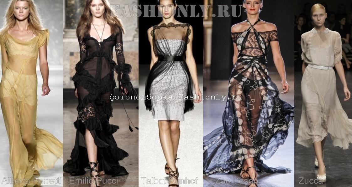 Что модно весной 2011? Мнгослойная полупрозрачность!