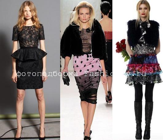 Модные юбки фото c показов Nina Ricci, Tuleh