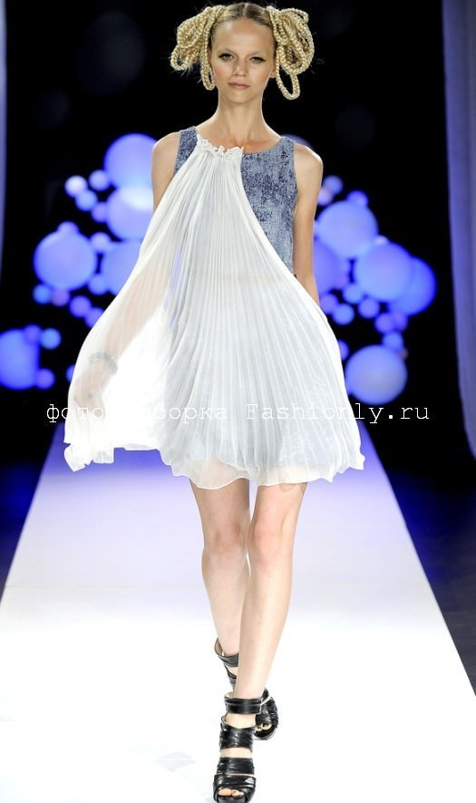 Bensoni шифон 2011 для пай девочек мода