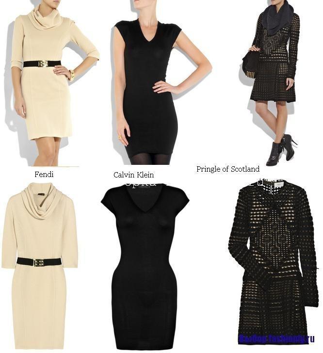 Вязаные платья 2010