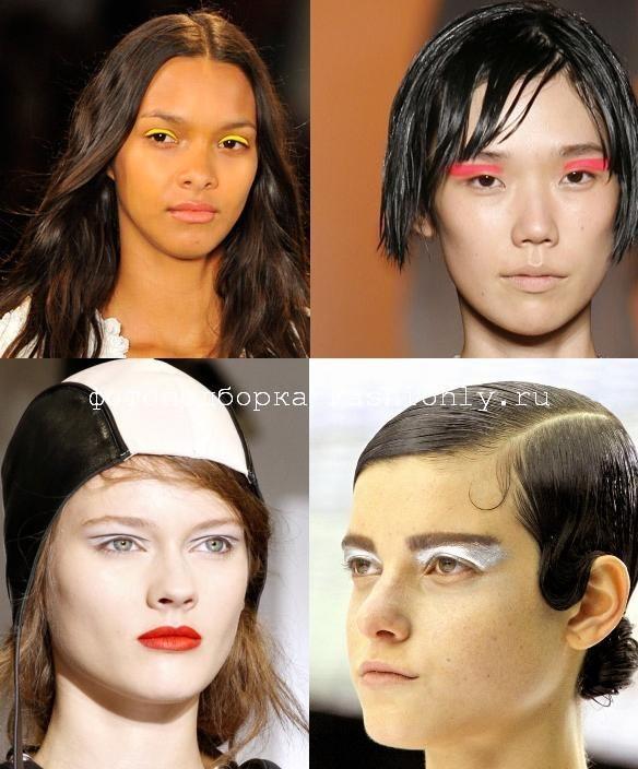 Модный макияж 2011 весна!