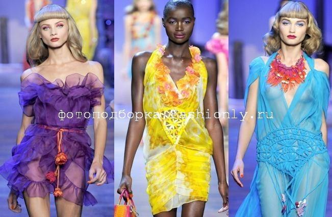 Платья 2011 фото с показа от Christian Dior Image