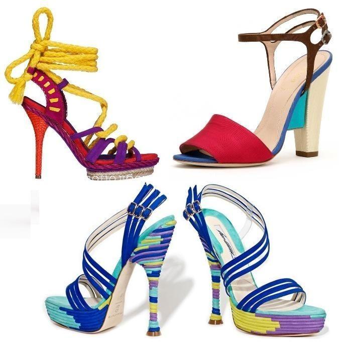 Босоножки 2011 — модные цвета Image