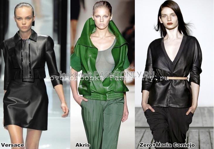 Модели женских курток 2011 с короткими рукавами