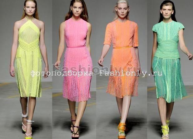 Кружевные платья от Кристофера Кейна