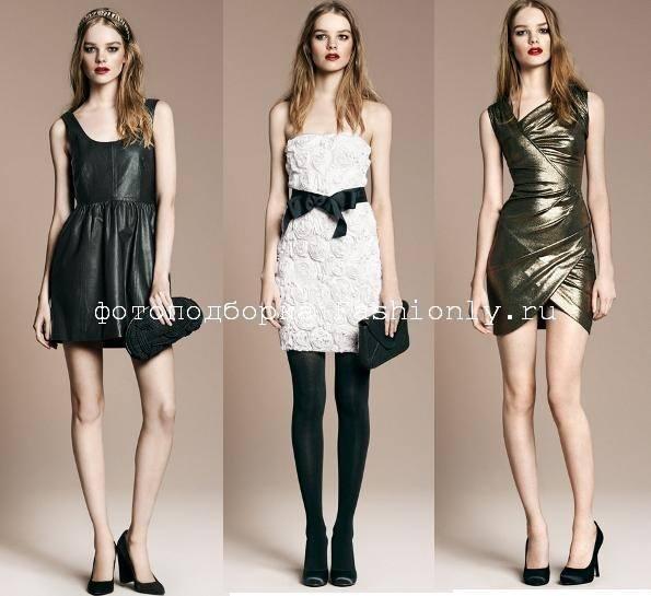Платья на Новый год 2011 от Zara