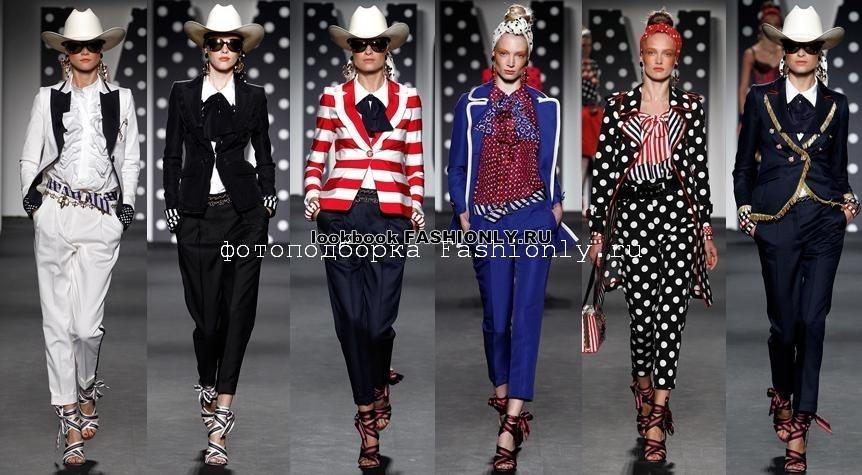 Брючные костюмы 2011 от Moschino