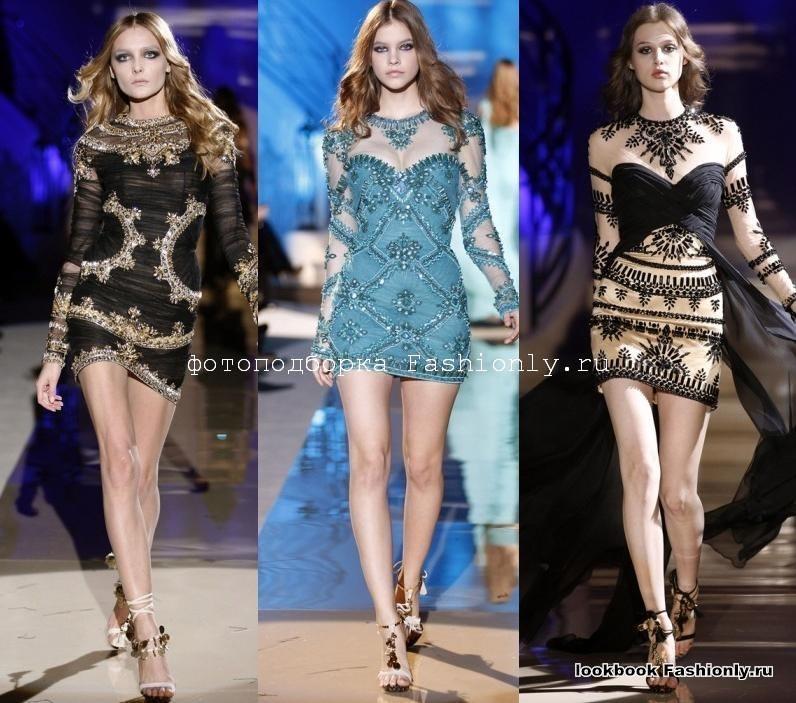 Короткие платья 2011 от Zuhair Murad