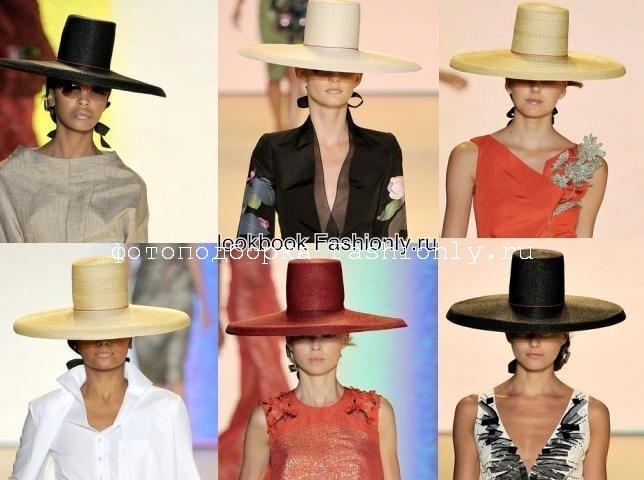 Вечерние шляпы 2011 от Caroline Herrera