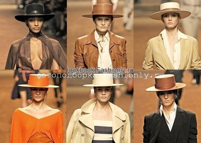 Модные кожаные шляпы 2011 от Hermes