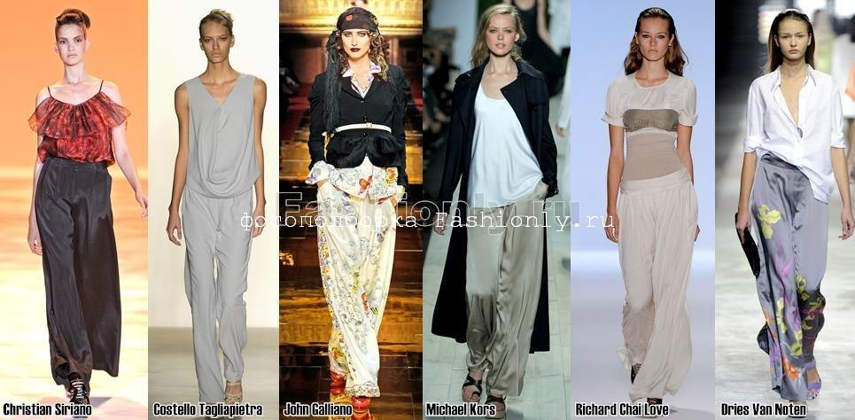 Широкие брюки 2011