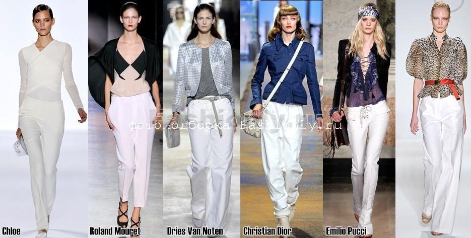 Модные брюки 2011 фото весенних тенденций! Image