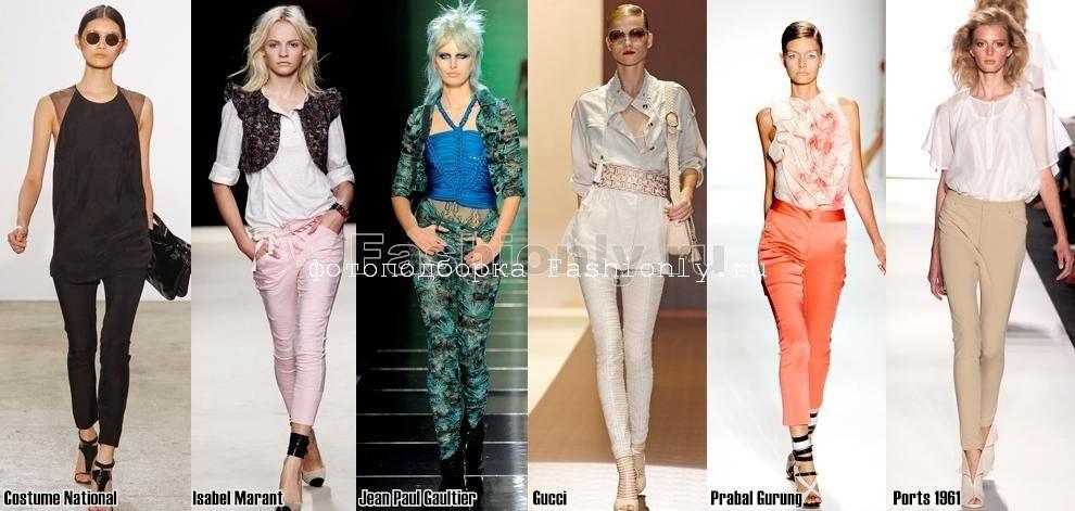 Ультра облегающие брюки 2011